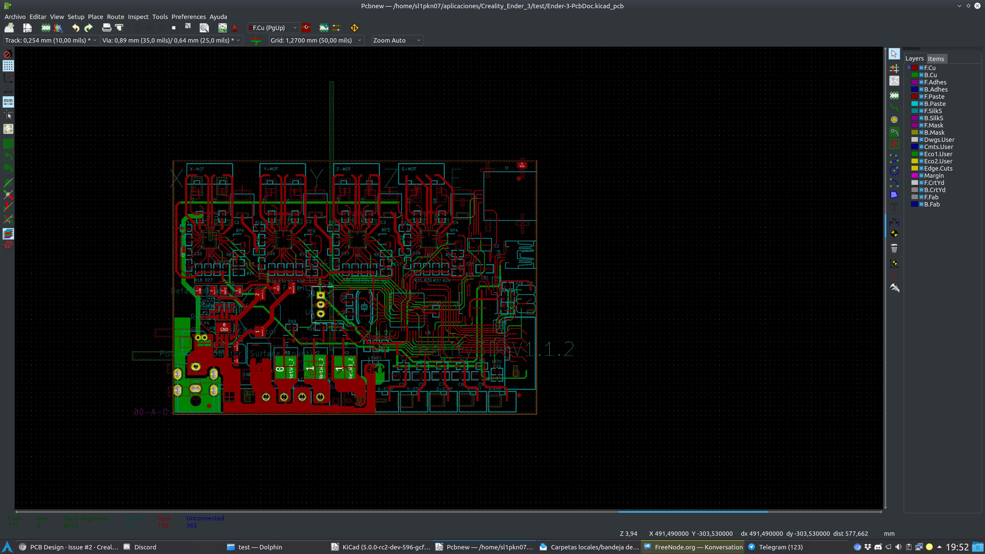 Pcb Design Issue 2 Creality3dprinting Ender 3 Github Naomi Wiring Diagram Screenshot 20180920 195240