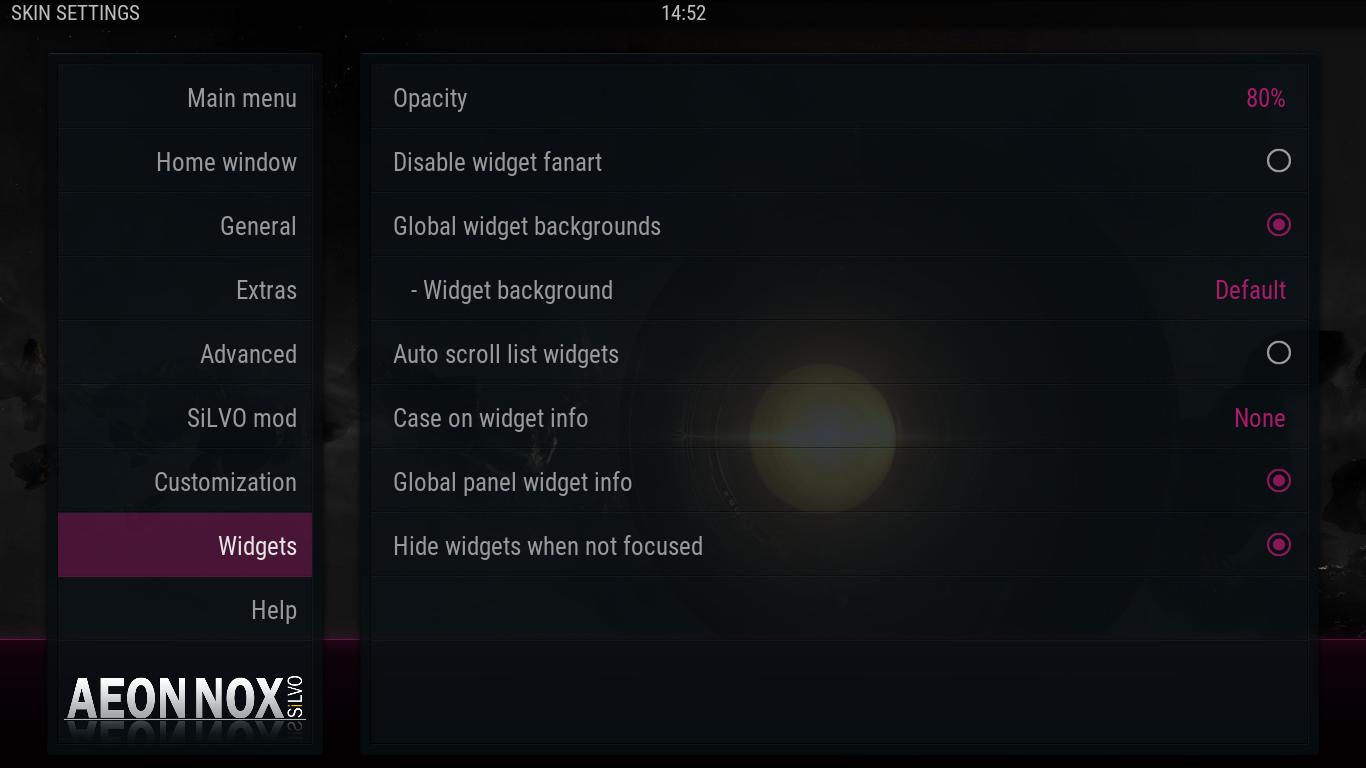 Missing skin setting on Widgets · Issue #79 · mikesilvo164