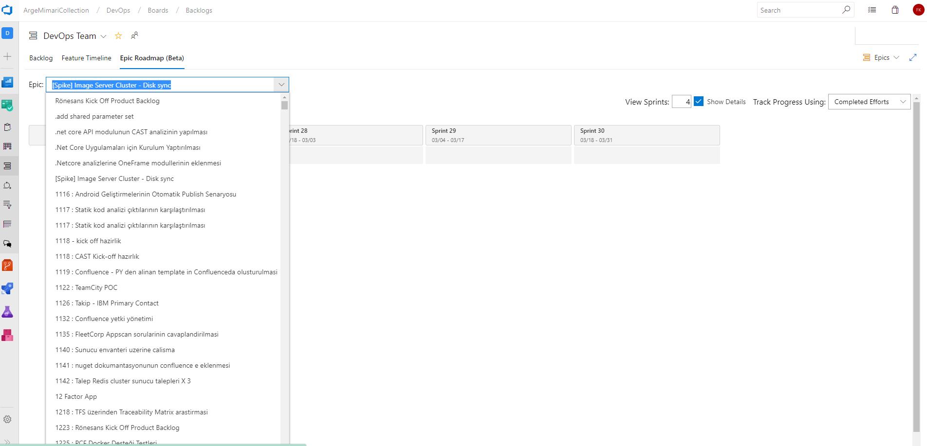 Epic Roadmap · Issue #84 · microsoft/featuretimeline · GitHub