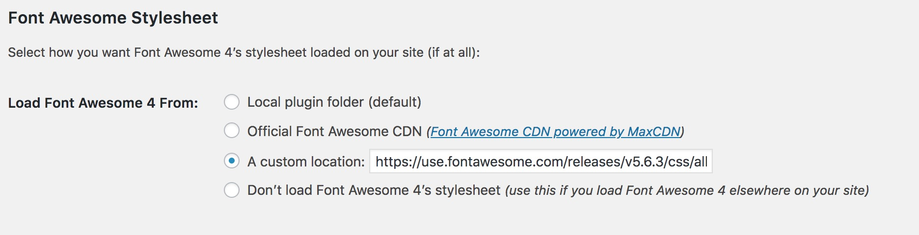 Font Awesome 5 support? · Issue #3 · cogdog/wp-dimension