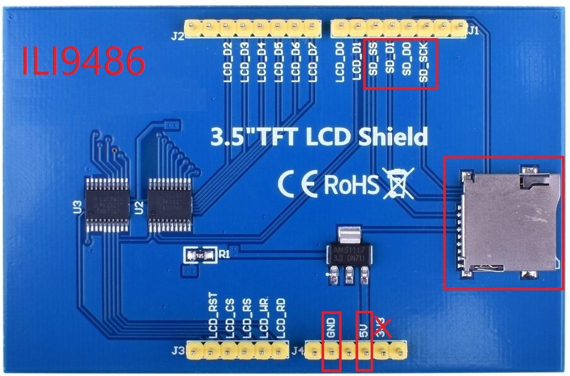 ESP32_SDcard_jpeg_ILI9486_MAR3502(have no touch screen) 3 5