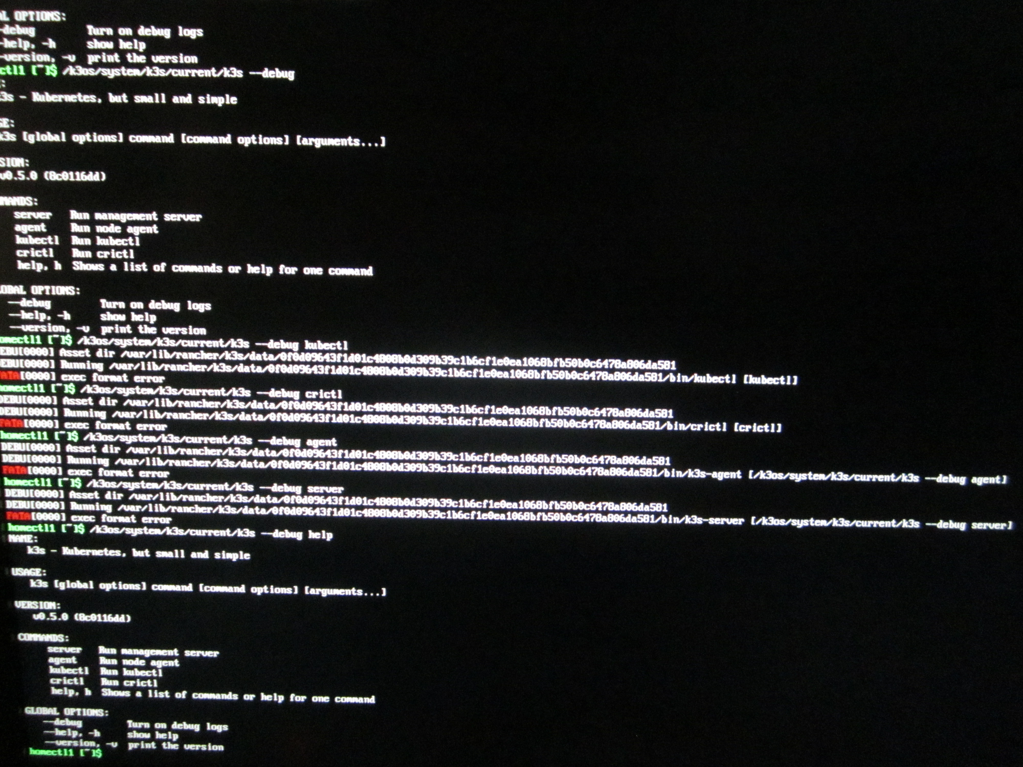 k3s failure on Odroid-C2 (arm64) · Issue #120 · rancher/k3os
