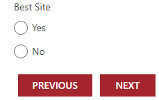 ChoiceGroup not maintaining checked values across pages