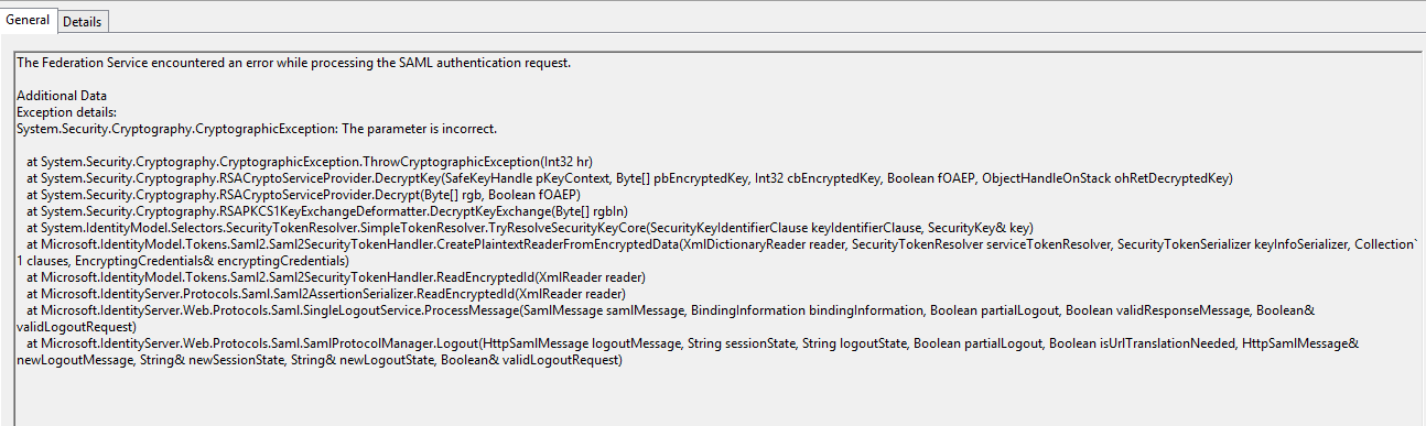 Logout problem on ADFS · Issue #130 · onelogin/java-saml · GitHub