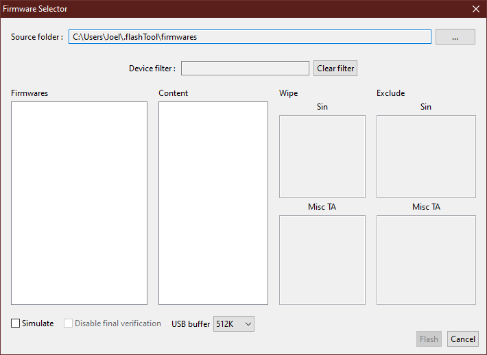 info root access denied flashtool