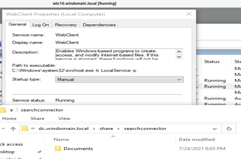 WebClient Running