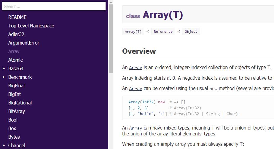Fonts for API docs · Issue #5053 · crystal-lang/crystal · GitHub