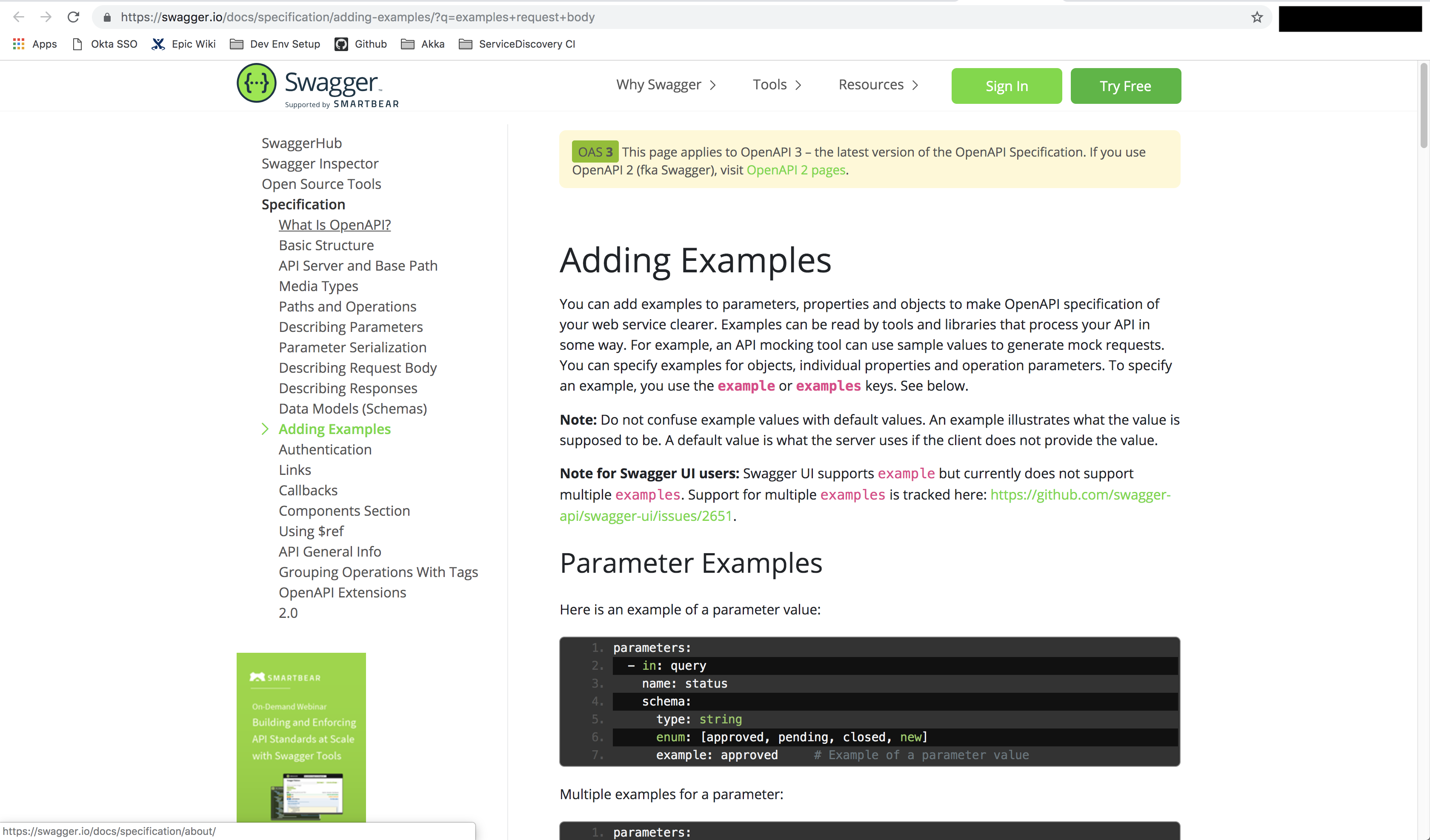 Examples are not showing · Issue #2651 · swagger-api/swagger