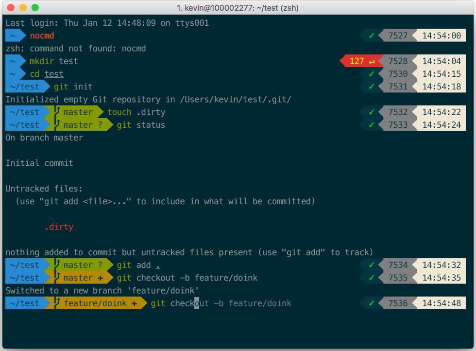 Git syntax highlighting similar to iTerm2 + Solarized
