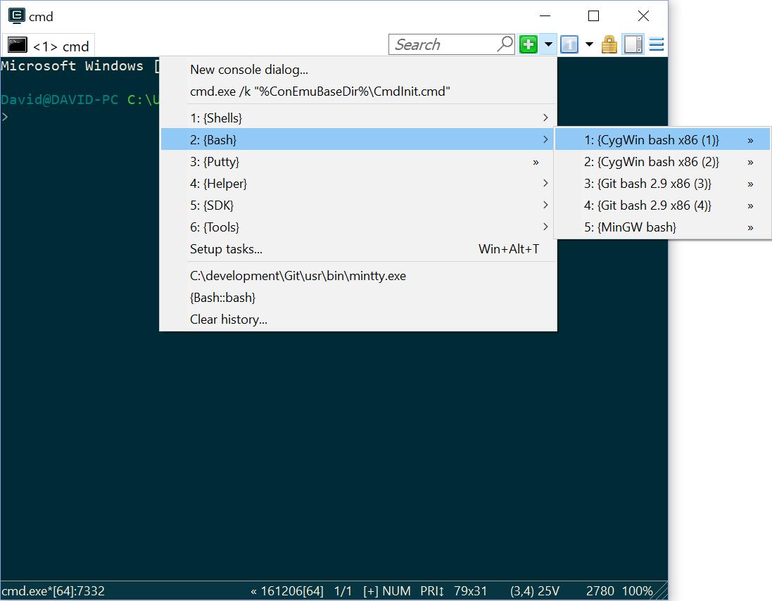 Drag-n-Drop to cygwin shell · Issue #337 · Maximus5/ConEmu