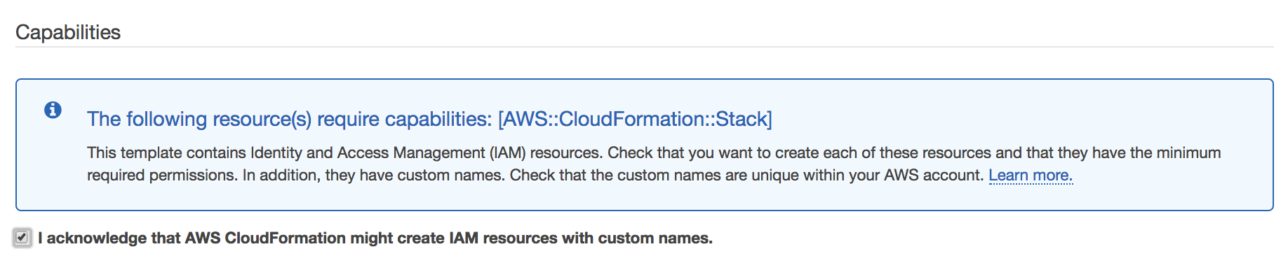 Stack getting rolled back automatically · Issue #43 · aws-samples
