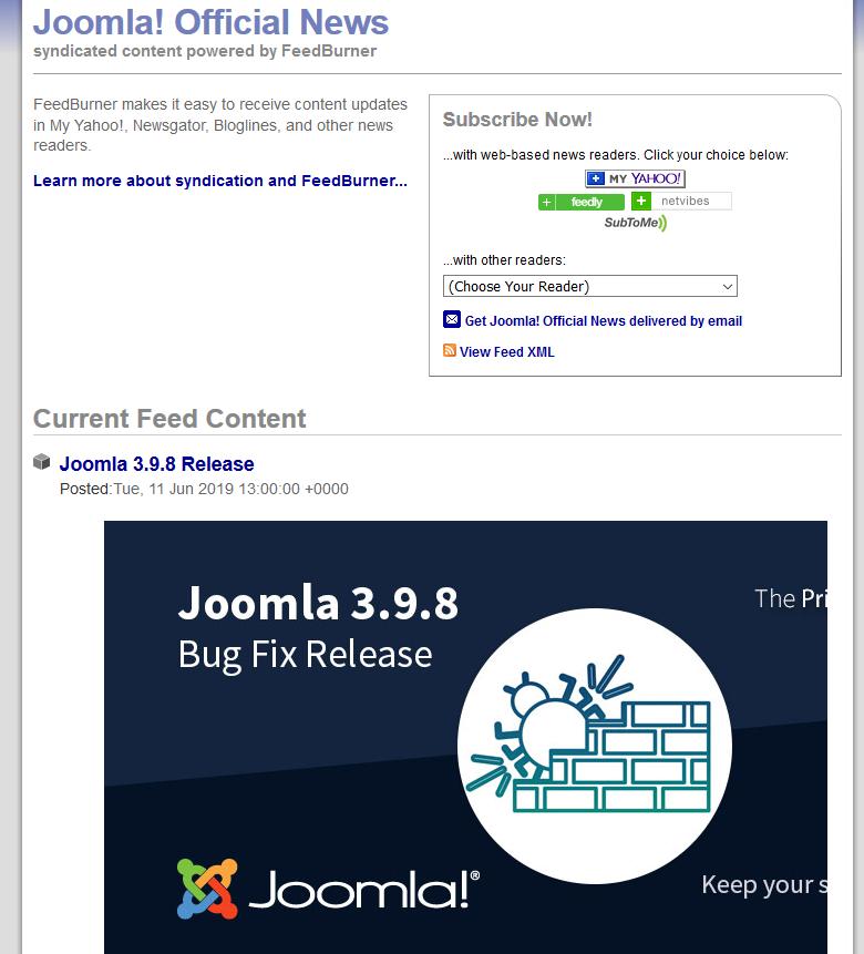 joomla org] Broken links · Issue #1335 · joomla/joomla