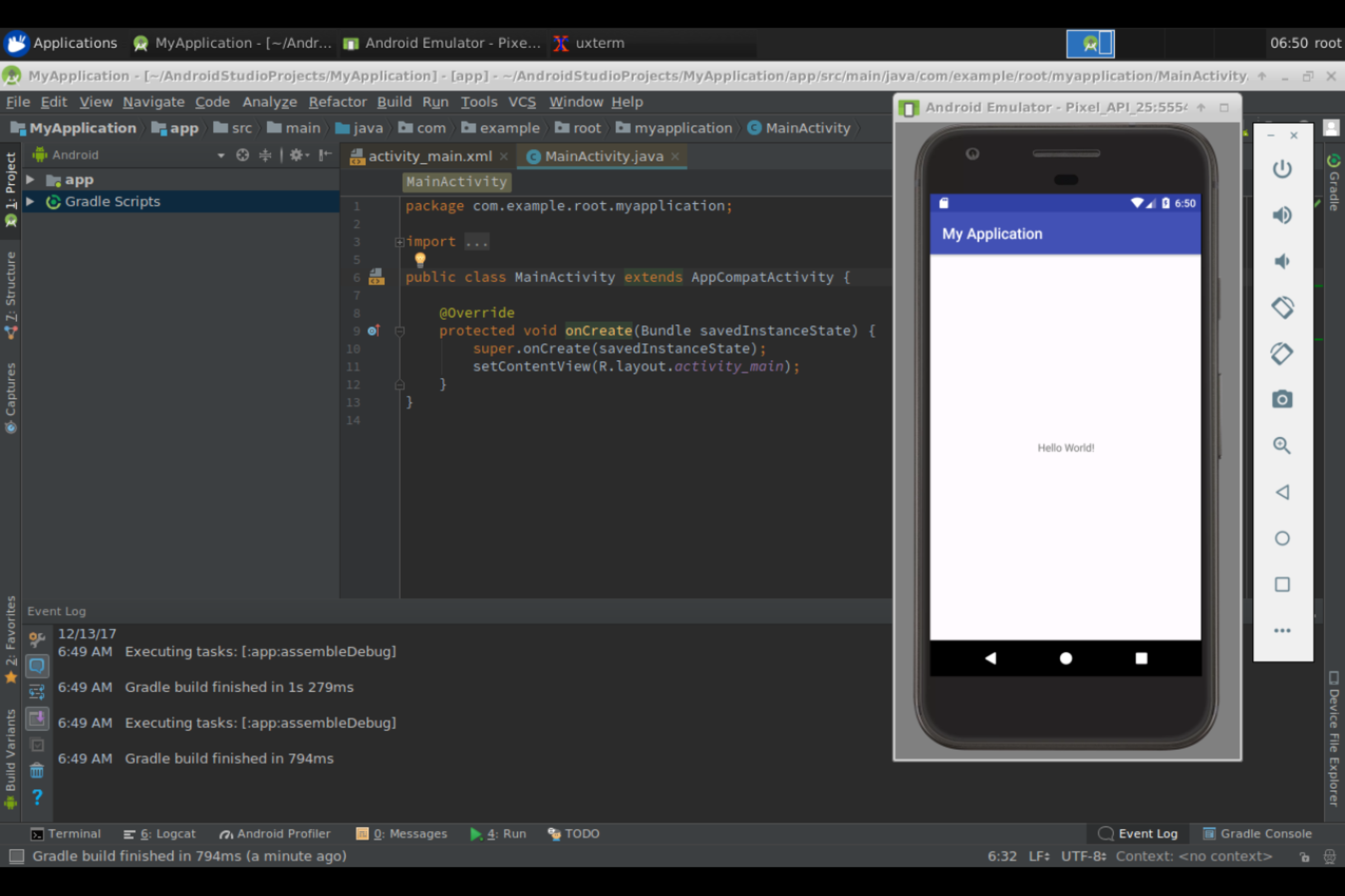 GitHub - ljishen/docker-vnc-android-studio: Android Studio