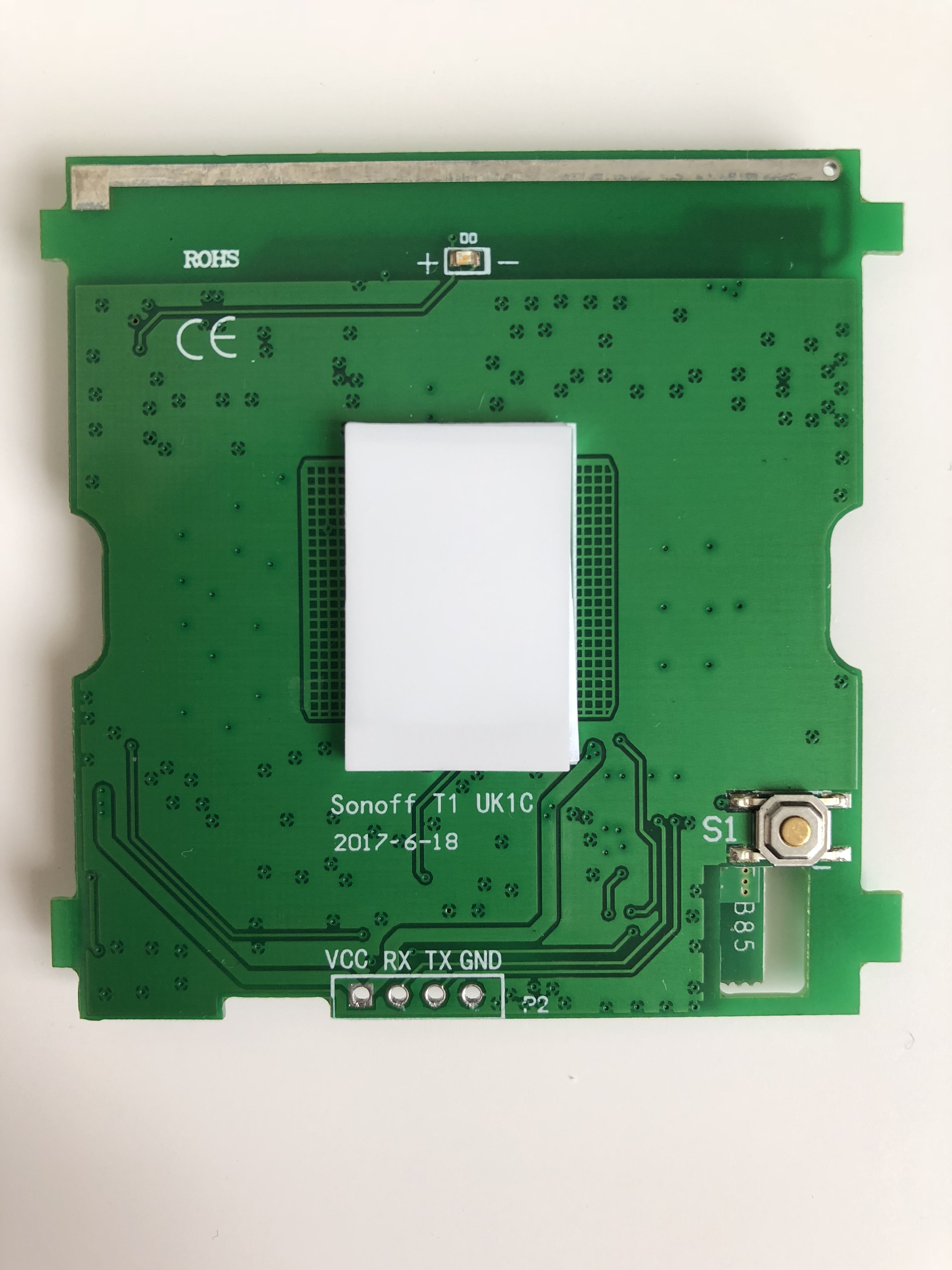 Developers - Sonoff T1 2 CH -