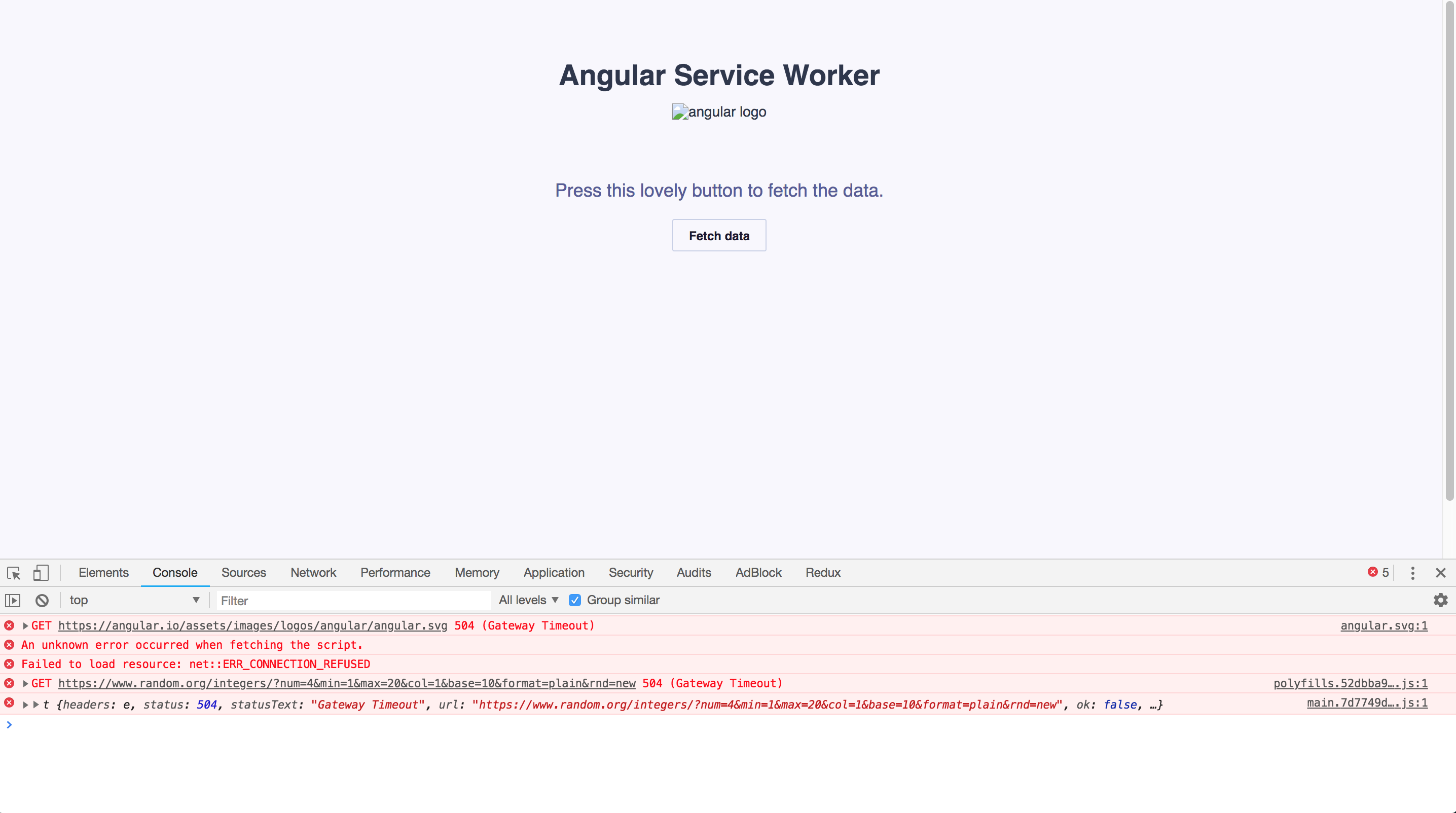 The Beginners Guide to Service Workers and Angular « ng-book com – blog