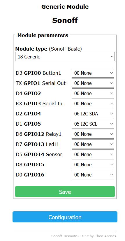 PRODINo WiFi-ESP support · Issue #3401 · arendst/Sonoff