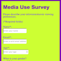Survey form thumbnail