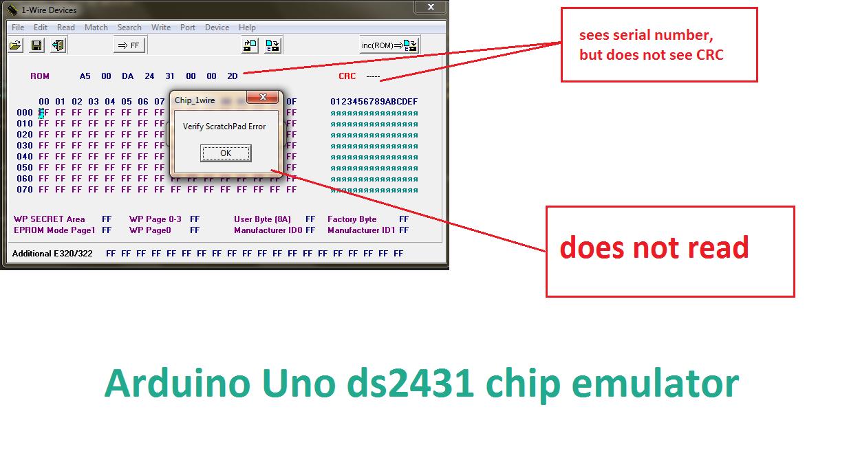 Arduino Rom Emulator