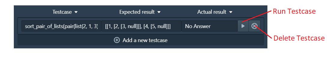 Testcase example