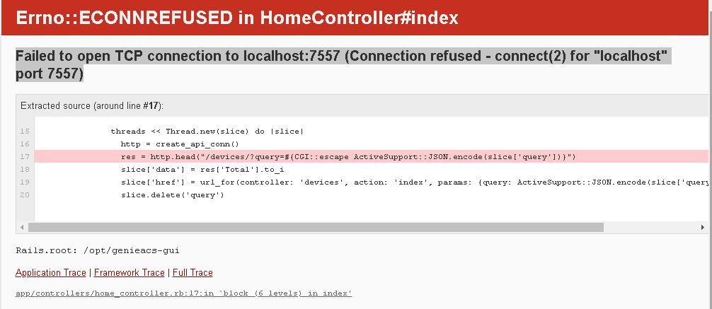 Errno::ECONNREFUSED in HomeController#index · Issue #1