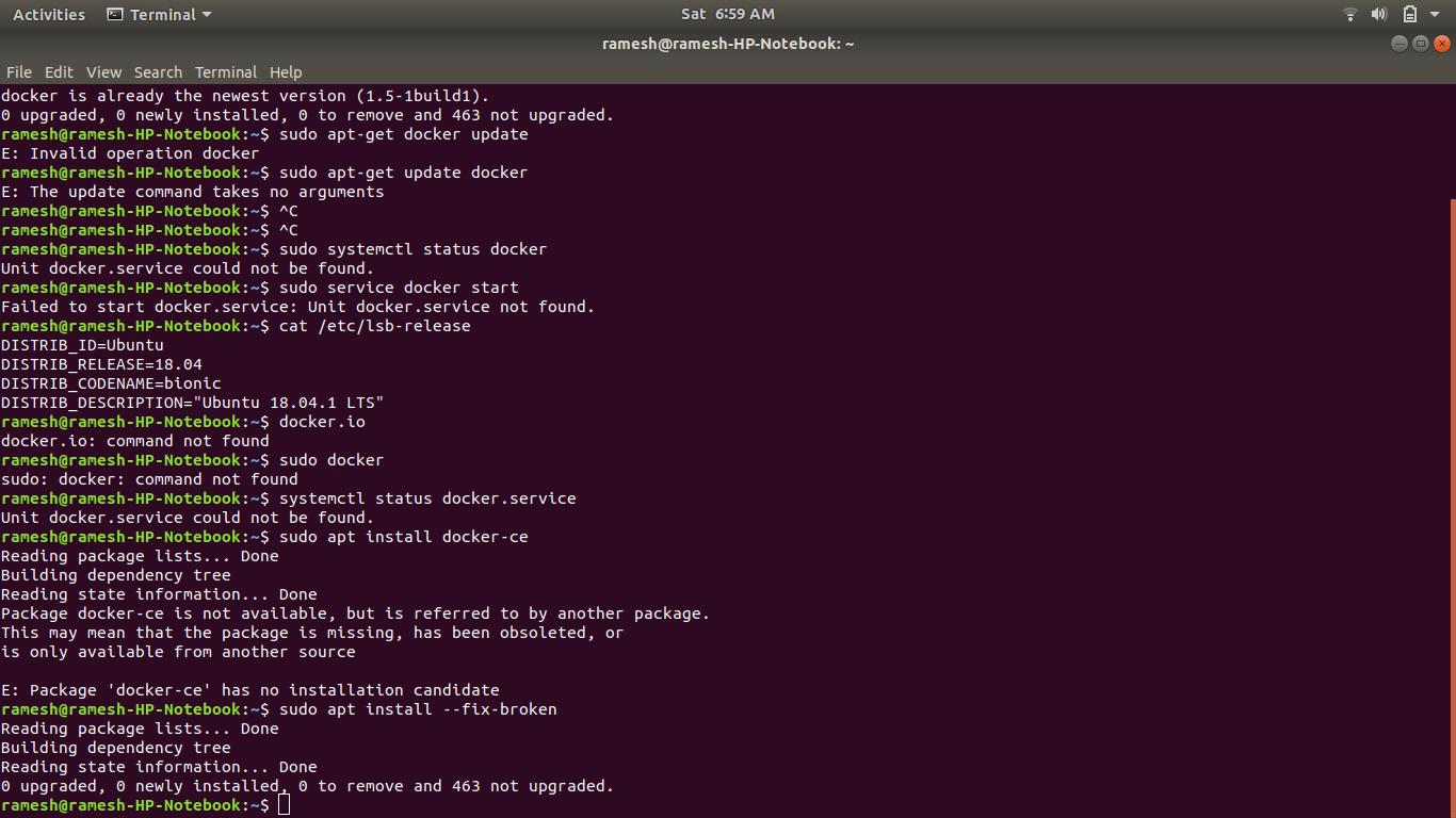 install docker 17.03 ubuntu bionic
