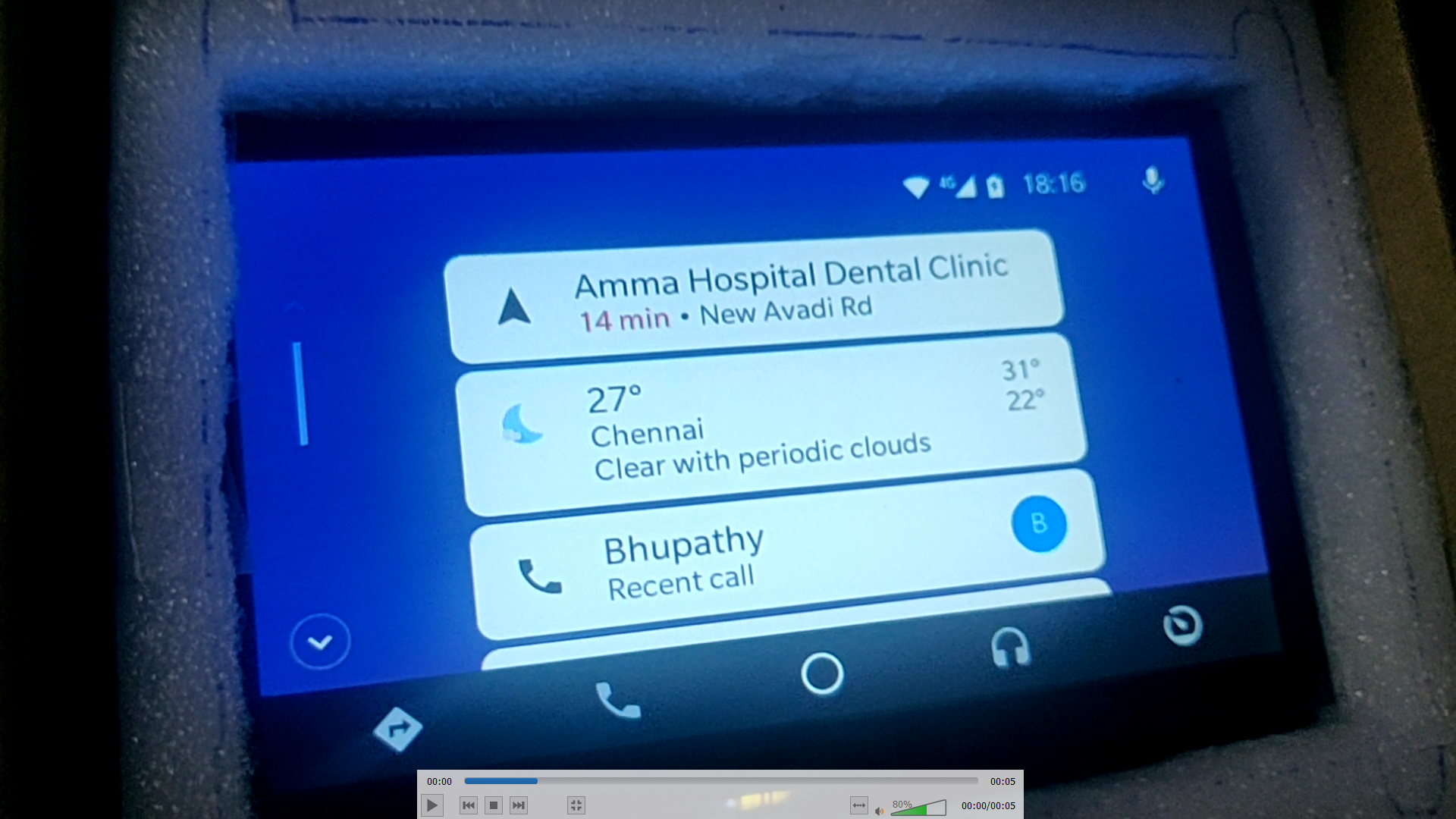 Android Auto closing automatically after some seconds -> fixed for