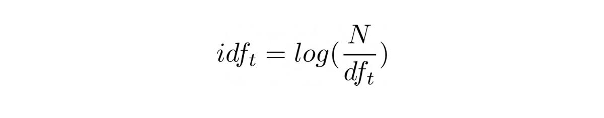 common idf function