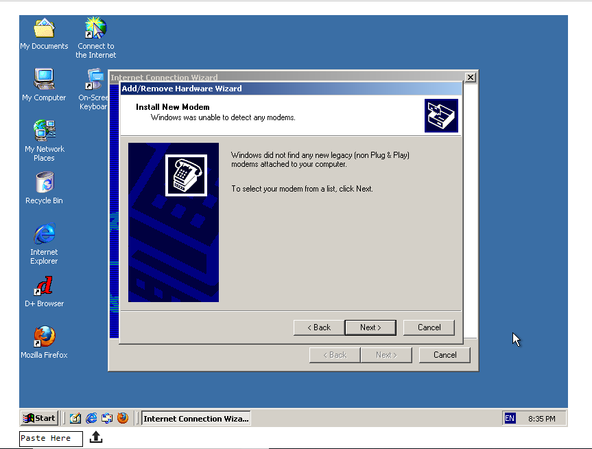 CLOSED :( } Windows 2000 webpage available · Issue #273
