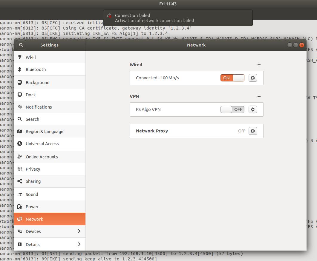 Ubuntu 17 10 Client Not Connecting · Issue #764 · trailofbits/algo