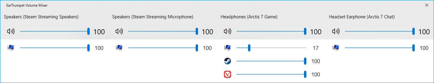Feature Request: let EarTrumpet save it's settings · Issue