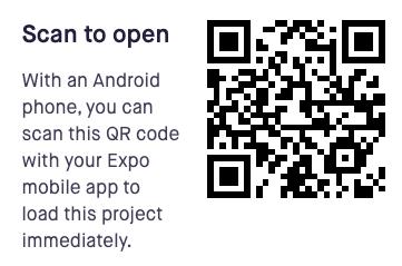 Expo QR