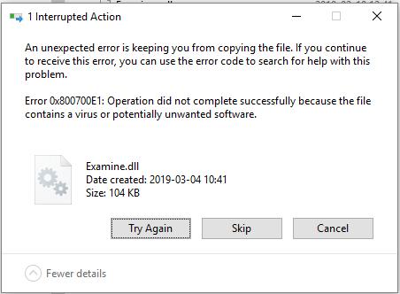 Windows Defender removes dlls · Issue #5042 · umbraco
