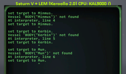 kOS 1 1 7, KSP 1 6 1 or 1 7 : No longer being able to set