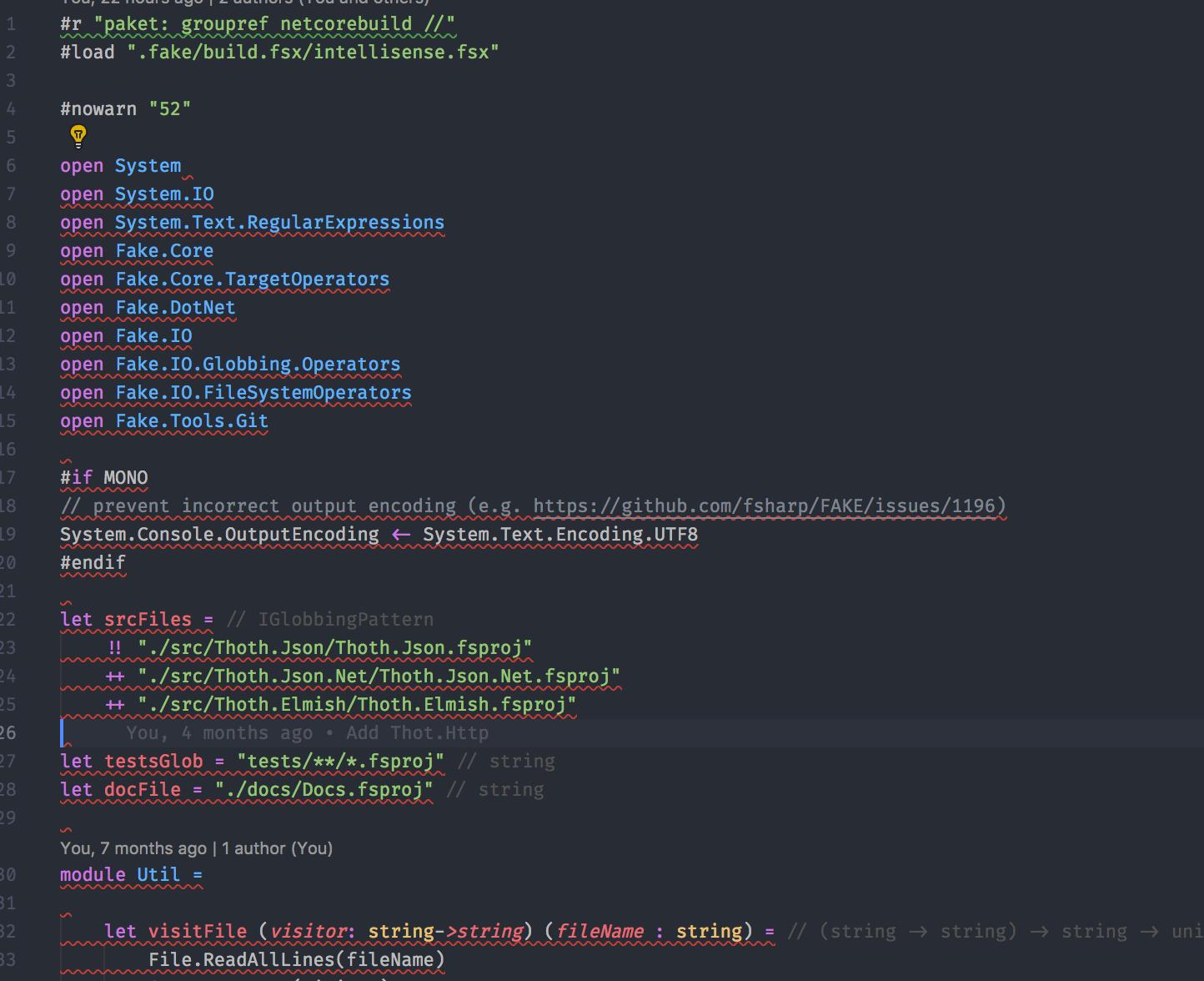 Intellisense error in `build fsx` file · Issue #839 · ionide