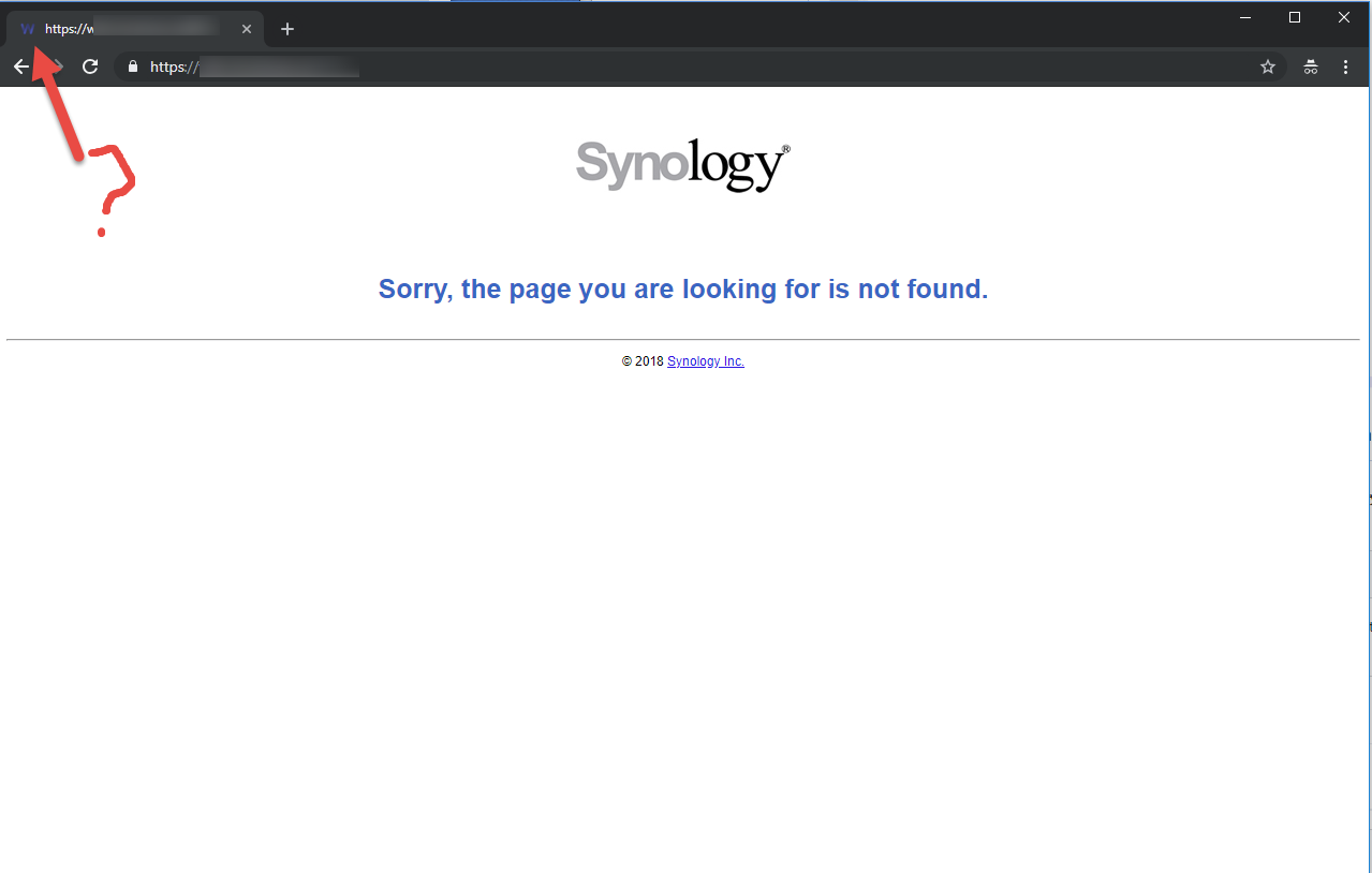 Reverse Proxy Domain does not work on Synology NAS · Issue #165