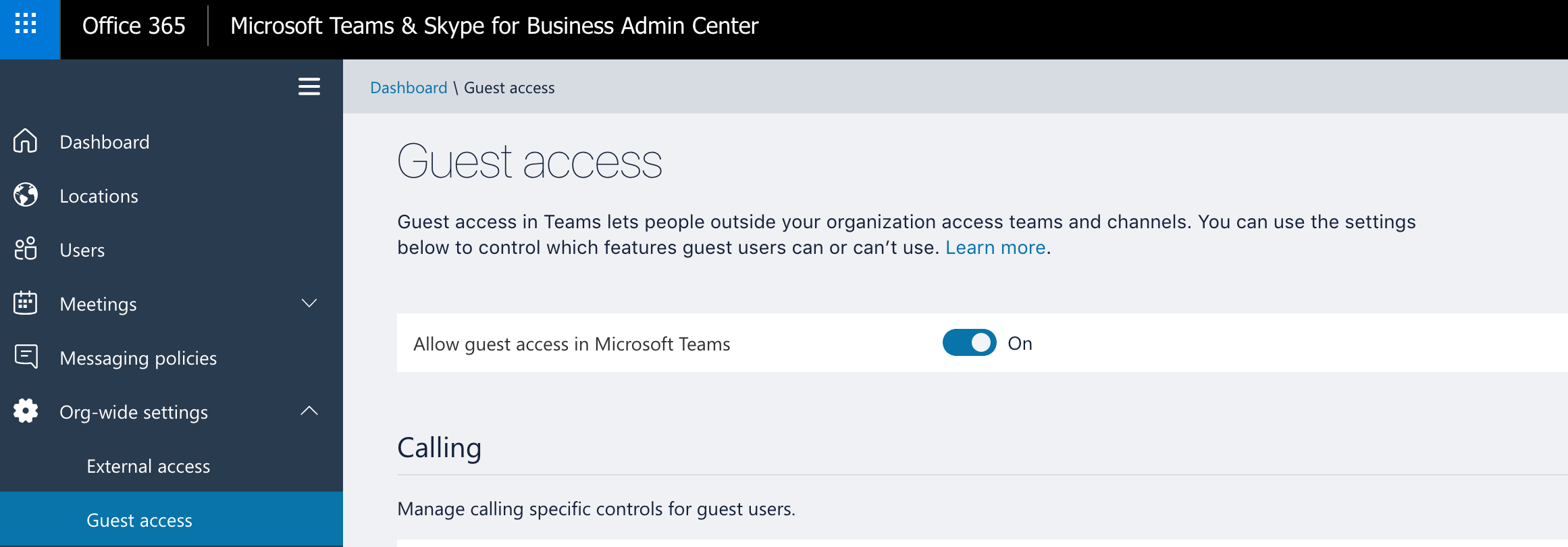 Cannot toggle guest access · Issue #775 · MicrosoftDocs