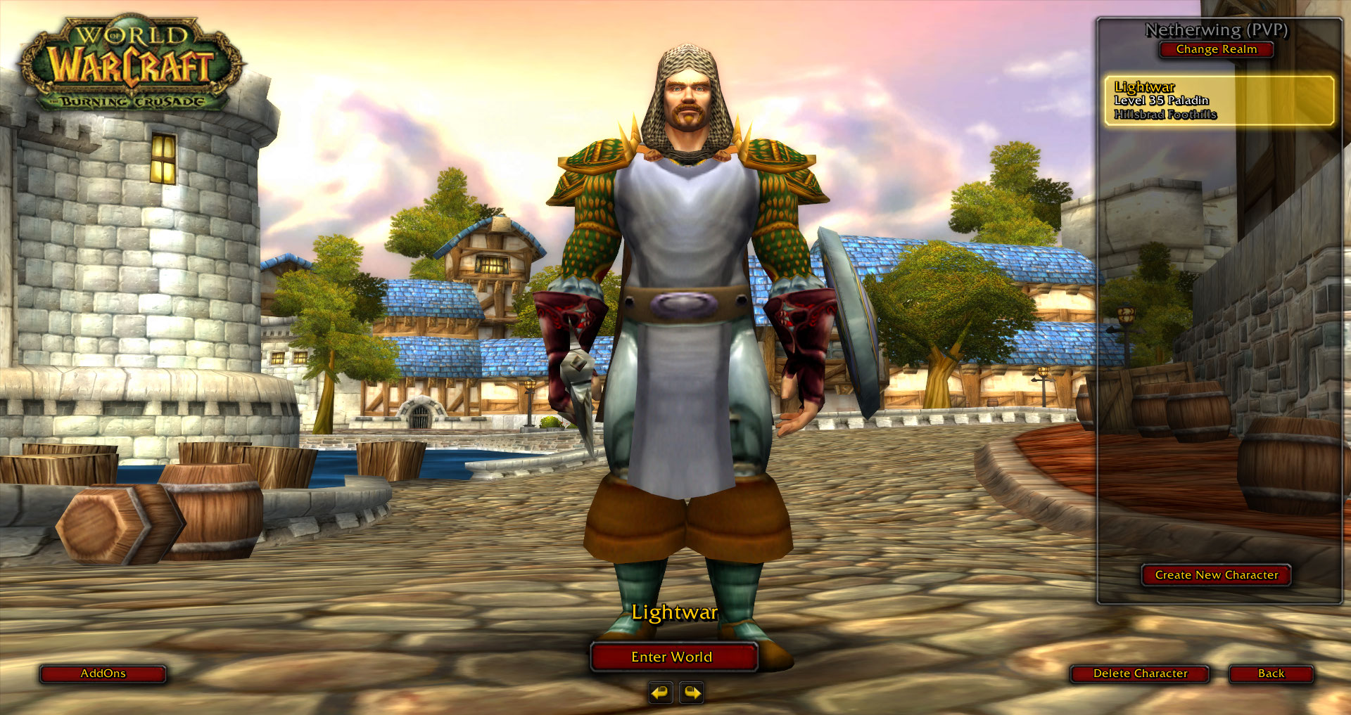 Guild tabard not showing on login screen · Issue #4306