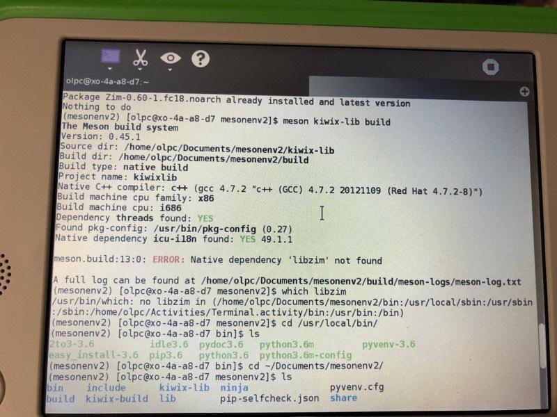 Haiti trip - looking for help getting Kiwix working on OLPC XO-1 5