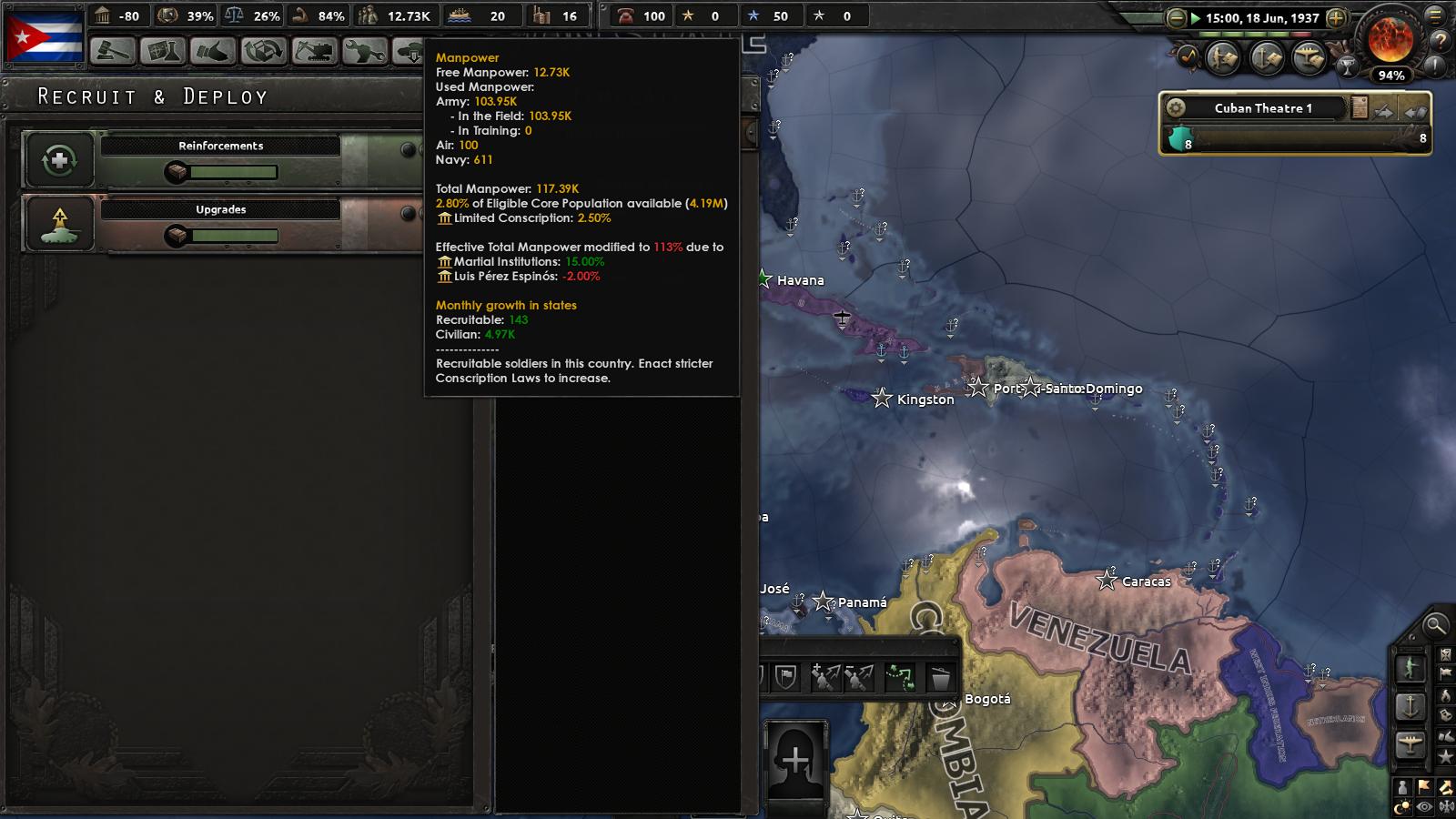 Cuba Manpower Glitch · Issue #3508 · KR4/Kaiserreich · GitHub