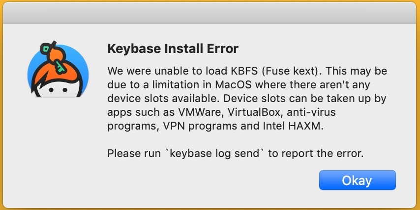 post-10 14 6 update Keybase kext can no longer load · Issue