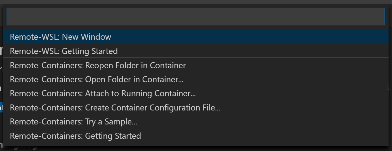 Allow easy switching between Remote-WSL and normal VSCode