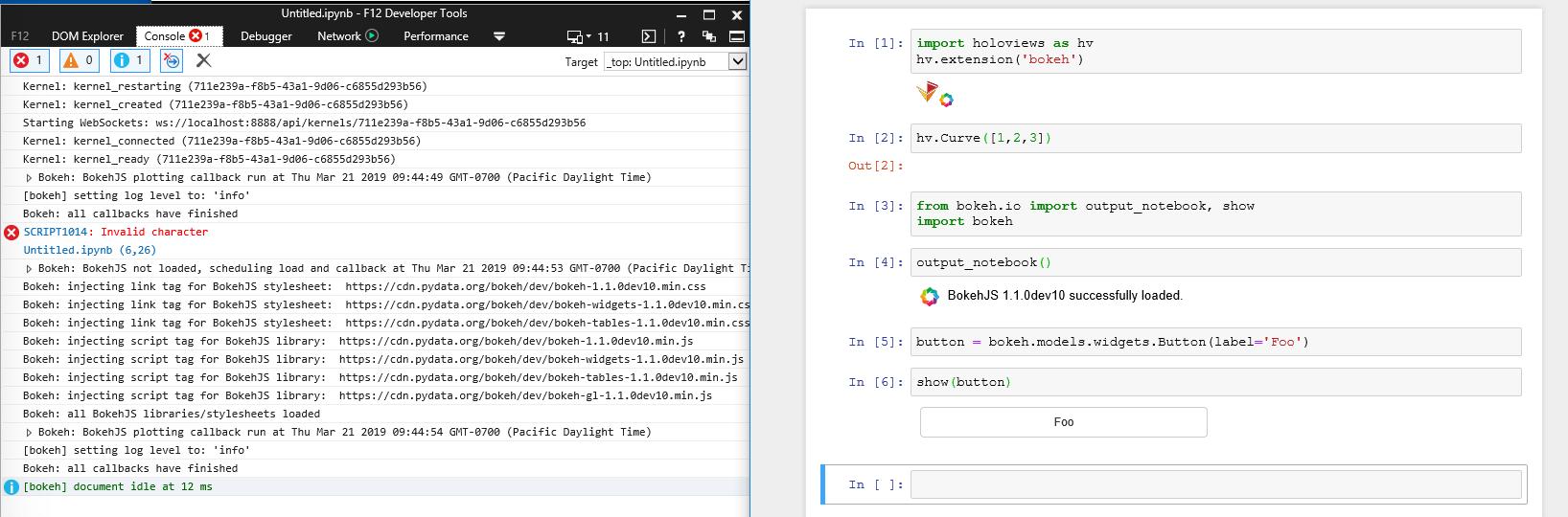 Windows does not display widget · Issue #321 · pyviz/panel · GitHub