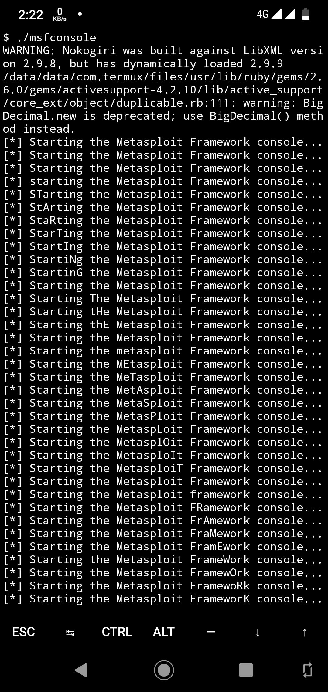Package request: metasploit-framework -