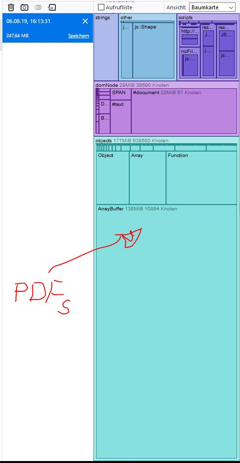 Memory Leaking with pdf viewer · Issue #10021 · mozilla/pdf