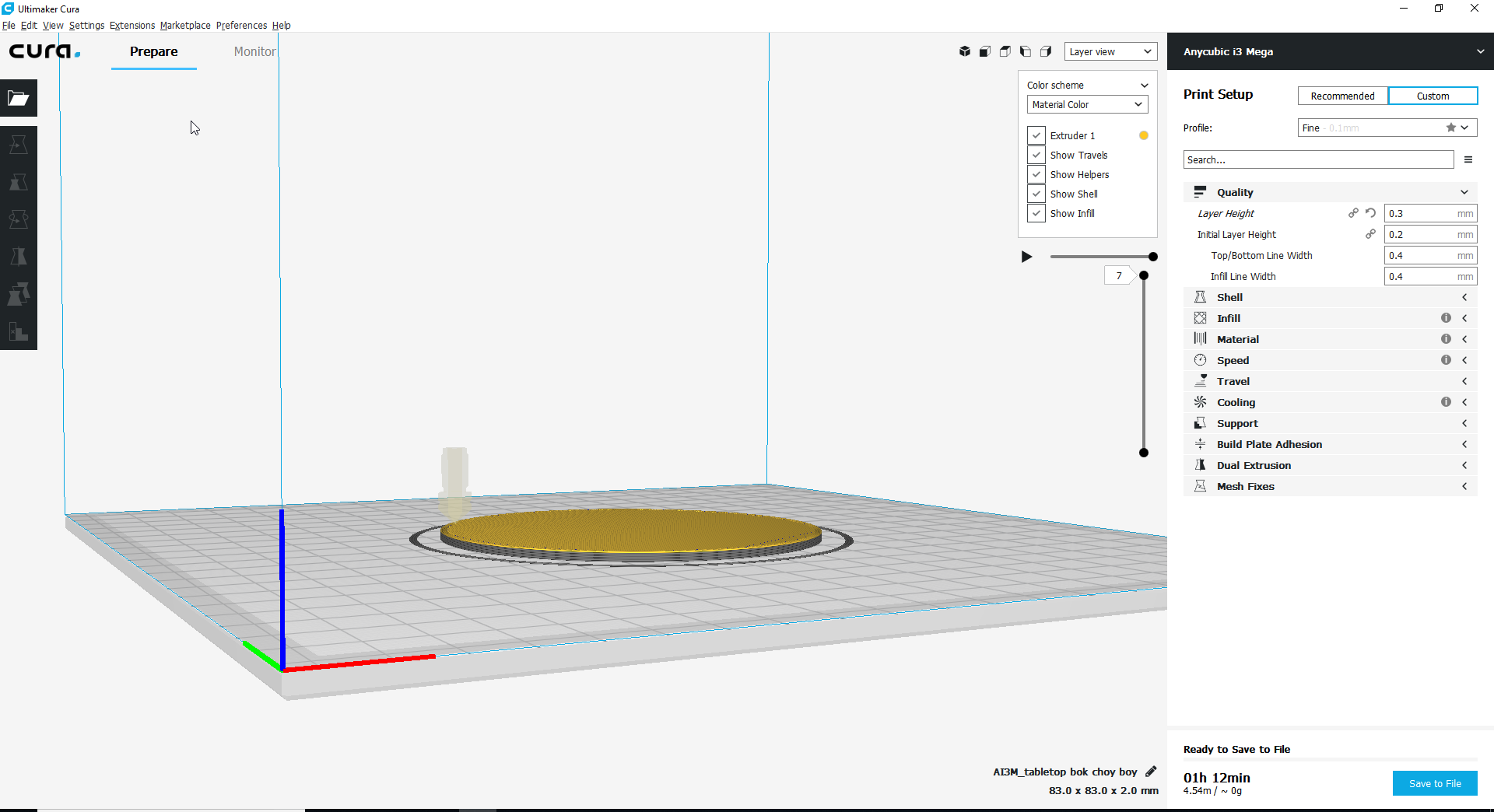 Cura not slicing entire object · Issue #5389 · Ultimaker