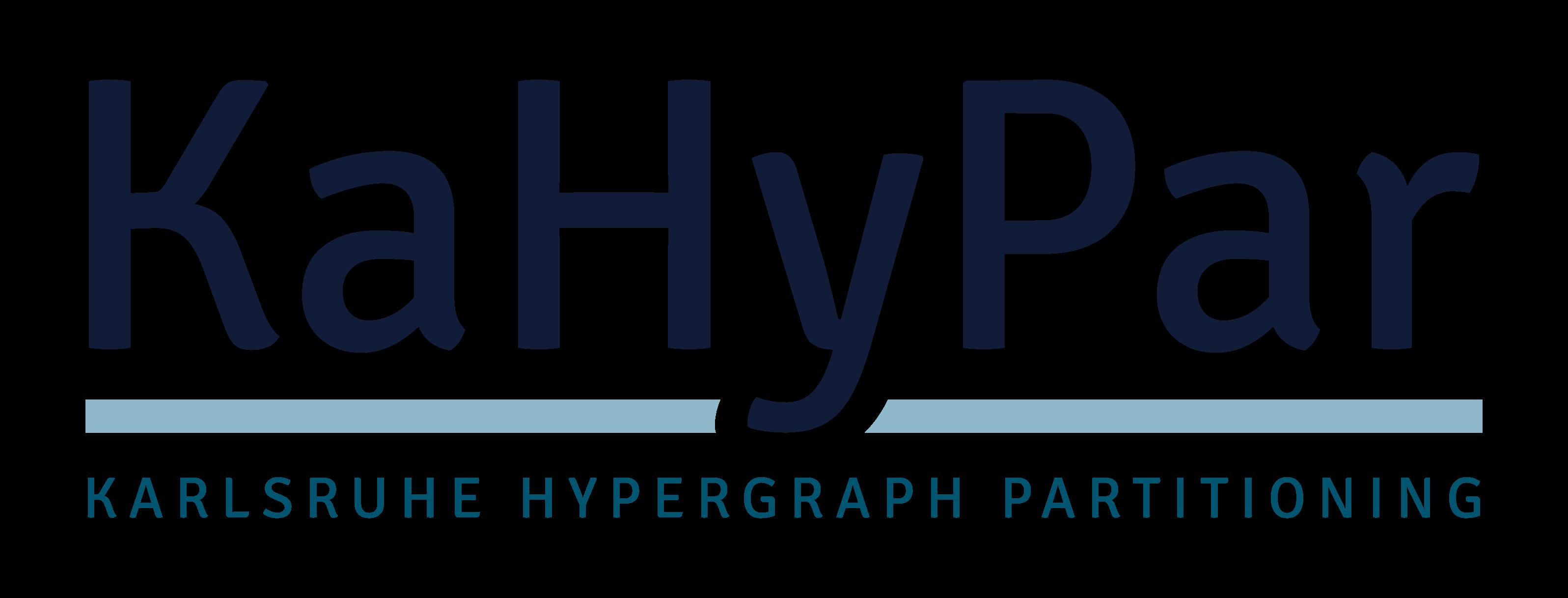 KaHyPar - Karlsruhe Hypergraph Partitioning