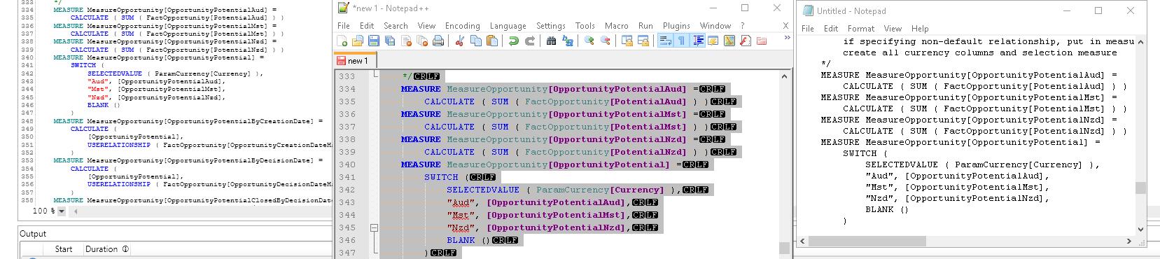 Text Editor Scaling · Issue #163 · DaxStudio/DaxStudio · GitHub
