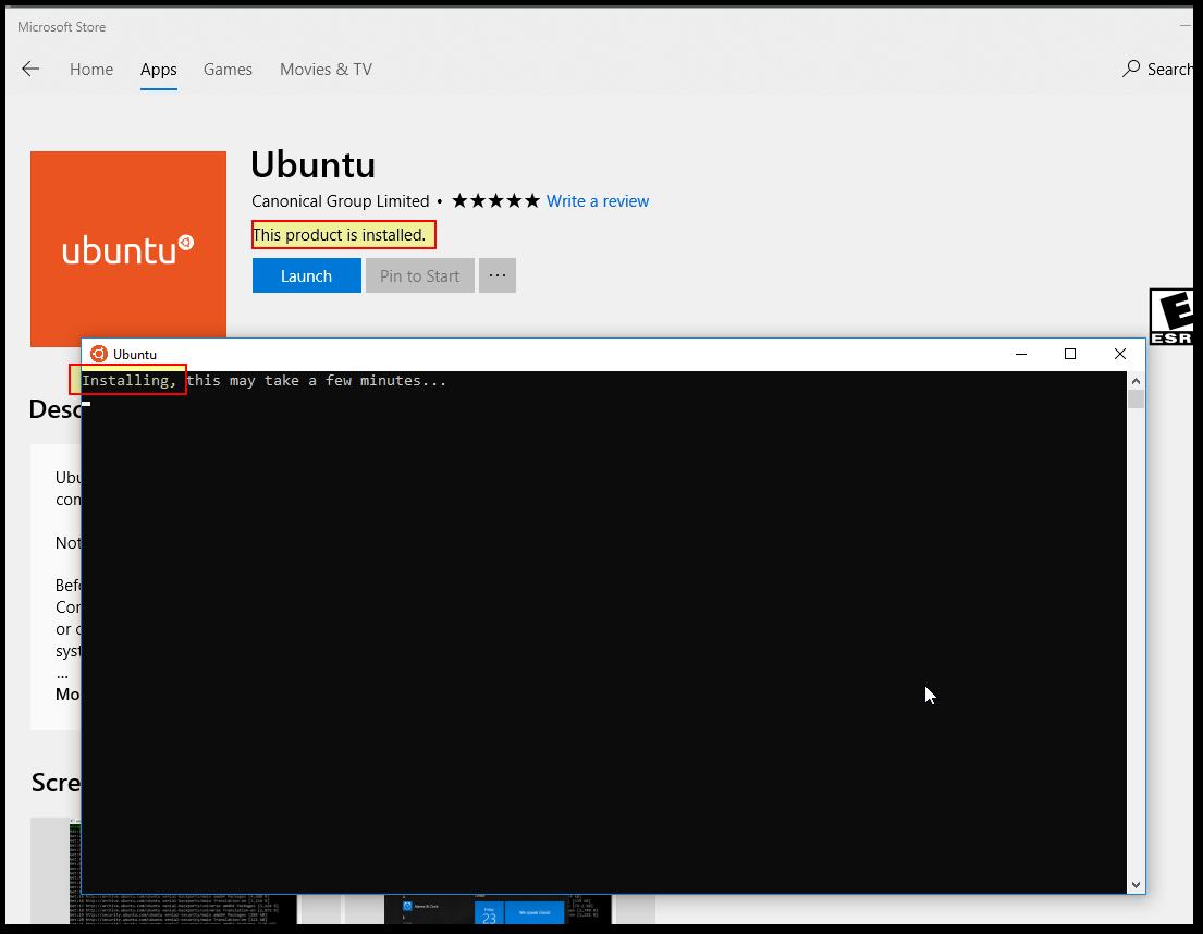 Install fails at `Enable-WindowsOptionalFeature` step