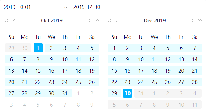 Date Filter 1