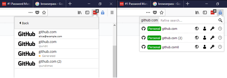 Comparing Lastpass to browserpass through the eyes of a